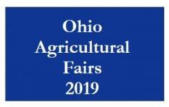 Ohio 2019 Fair Schedule