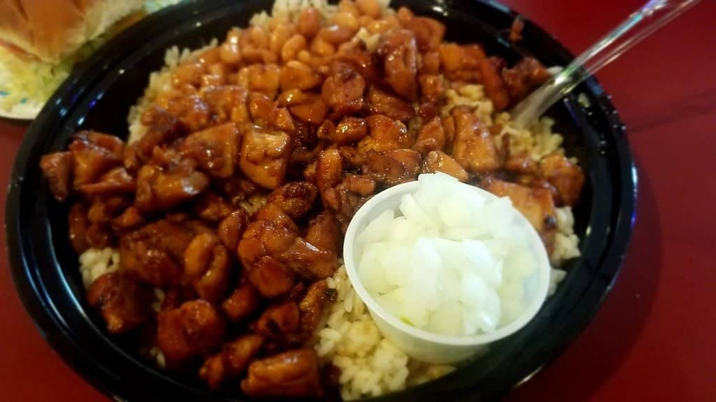 Bourbon Chicken from Thirsty Parrot