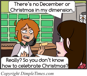 Christmas Dimension – Esther and Forrest – December 2018