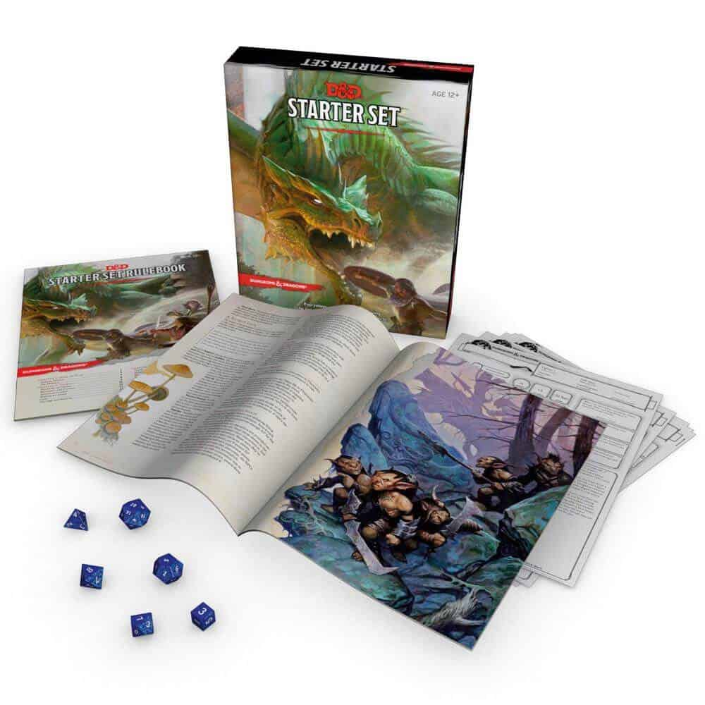 Dungeons and Dragons Starter Set by Wizards of the Coast