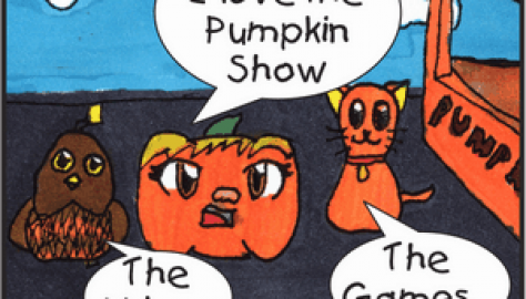 Pumpkin Food - Pumpkin Rollers - October 2018 Panel 1
