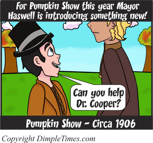 Pumpkin Show B-Day - Happy Circa - October 2018 Panel 1