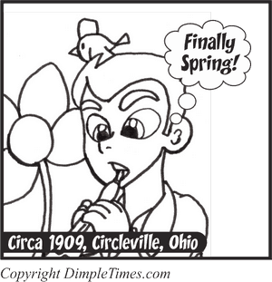 Seasonal Clarinet - Happy Circa - April 2018 Panel 1