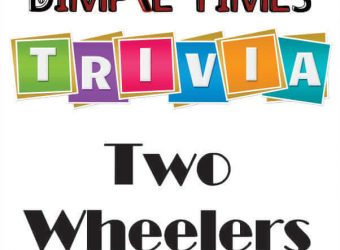 Two Wheelers Dimple Times Trivia