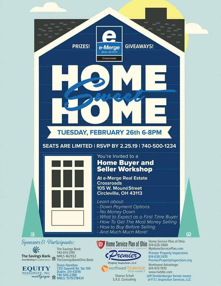 Home Buyer and Seller Workshop hosted by e-Merge Real Estate Crossroads