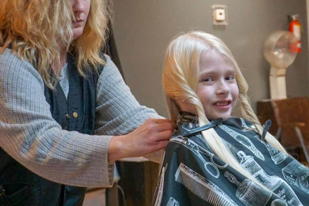 Circleville girl donates beautiful hair to wigs for kids