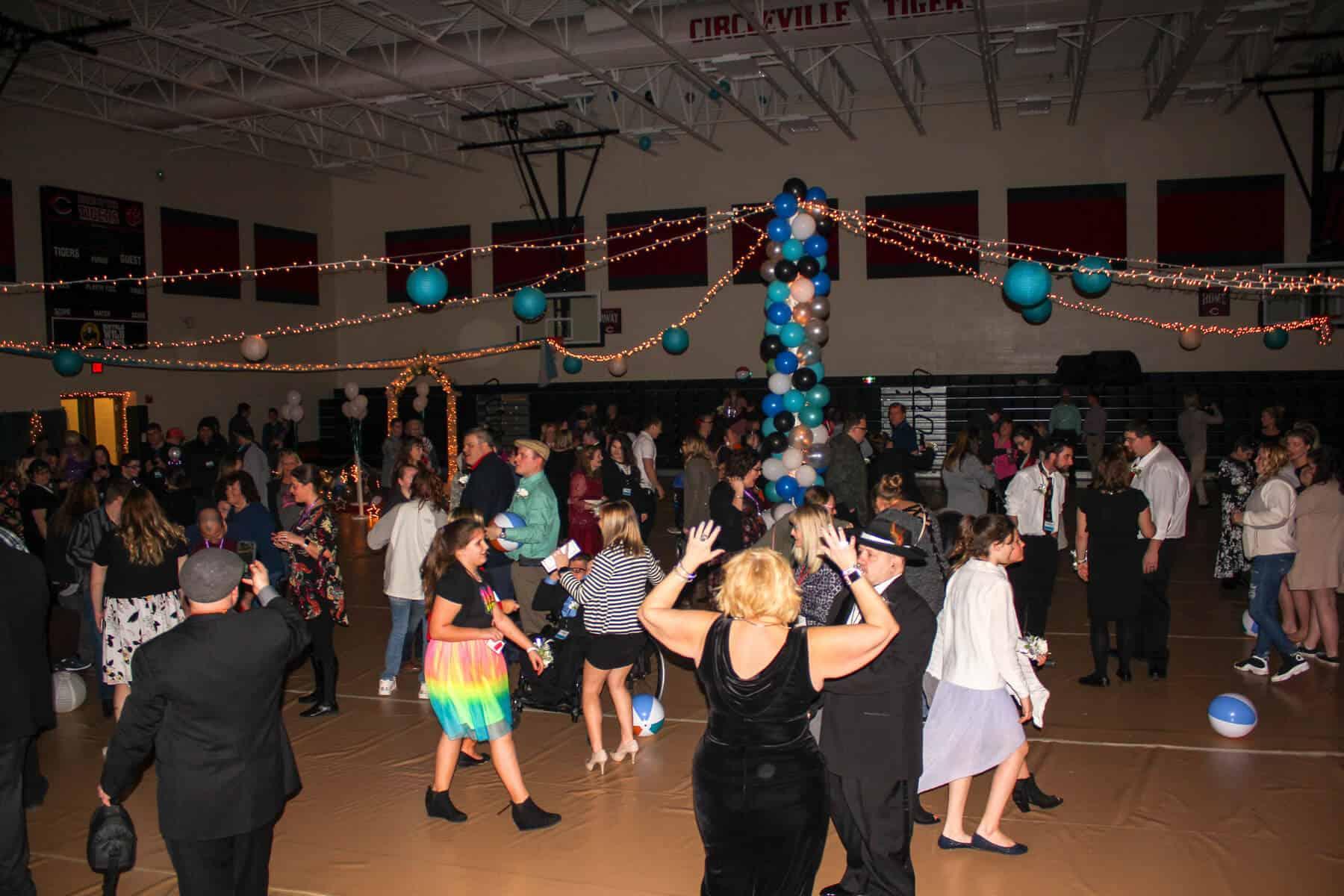 Night to Shine Dance Floor (Photo Courtesy of Travis Mitchell)
