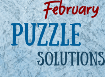 Puzzle Solutions Dimple Times February