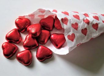 Red Heart Candy Valentine