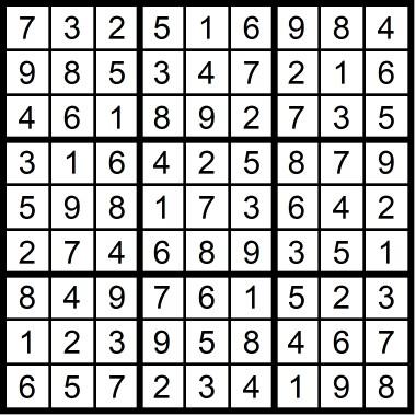 Sudoku Madness Medium February 2019