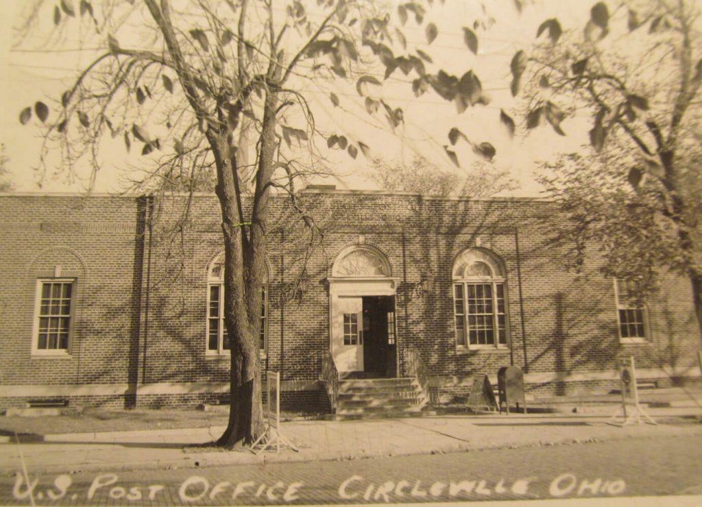 US Post Office Circleville Ohio in 1930s