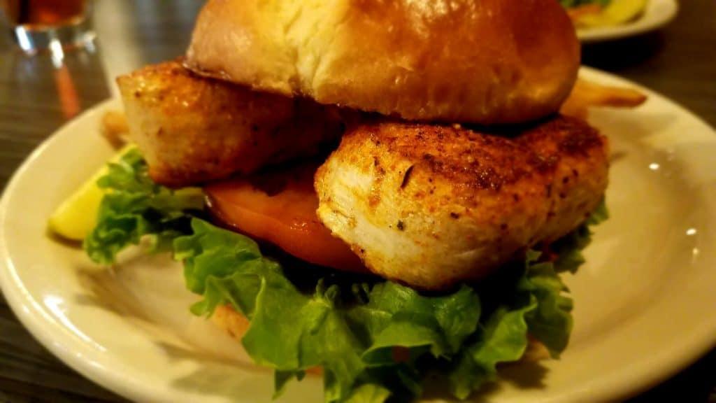 Watt Street Tavern - Blackened Chicken Sandwich