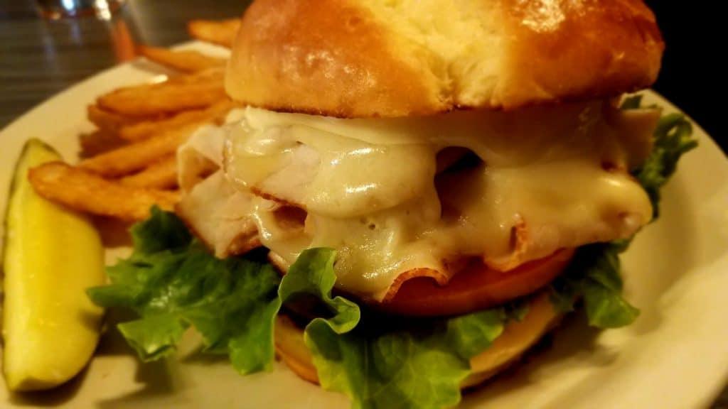 Watt Street Tavern - Hot Stacks Sandwich