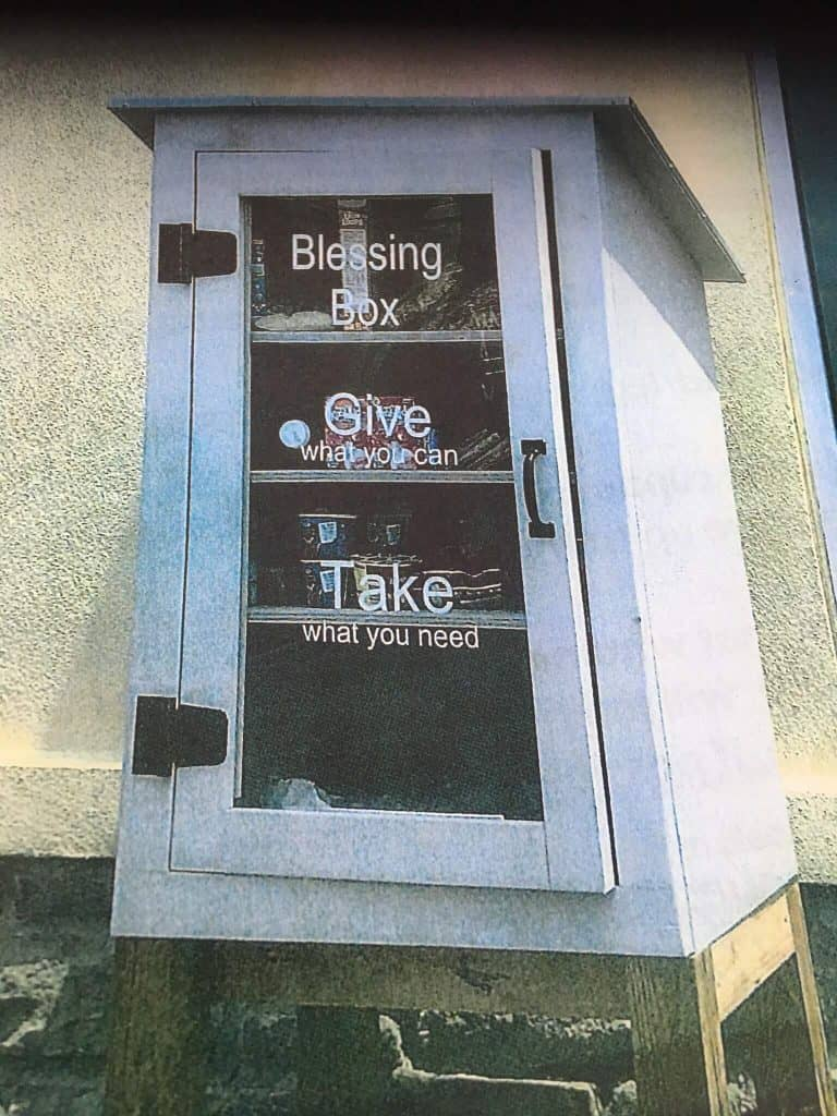 Community Cupboards project started by Pickaway County Board of Developmental Disabilities