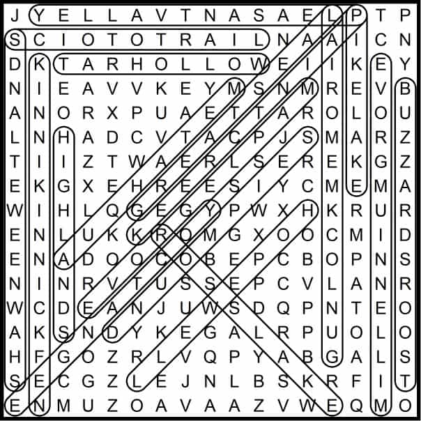 Ross County March 2019 Word Search