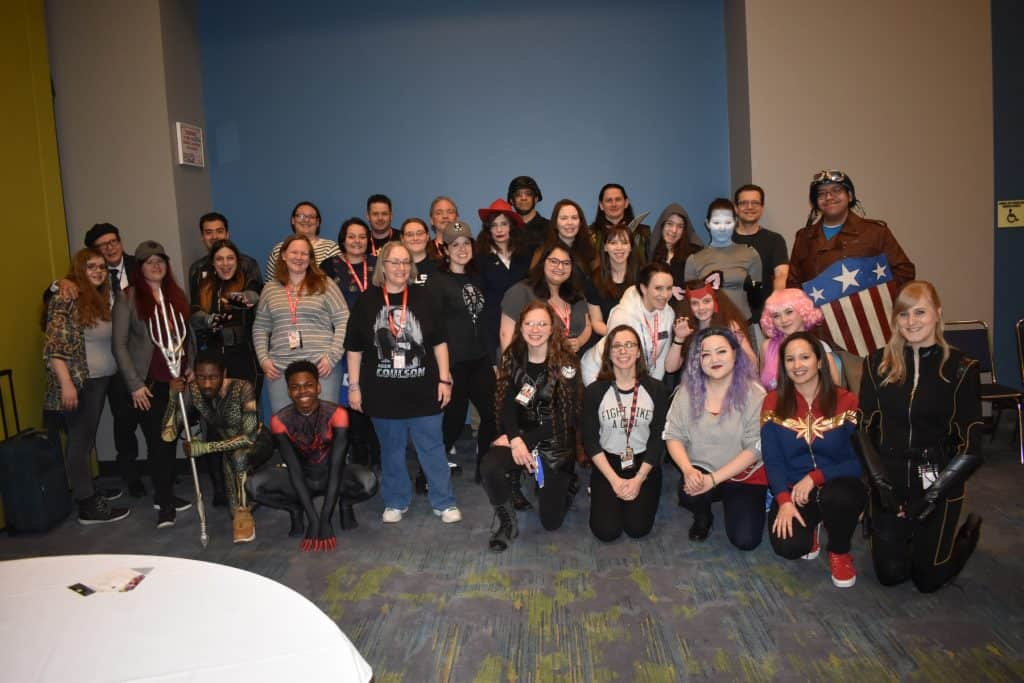 Ohio fan group invited on as Guest at Chicago comic convention