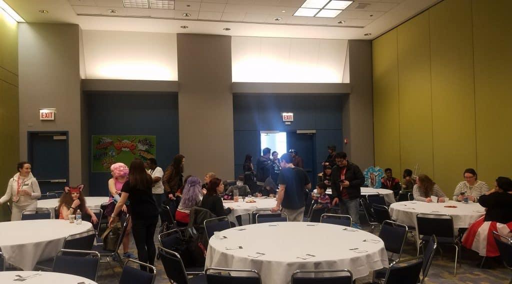 Fans Gathering for C2E2 SHIELD Fan Meet Up