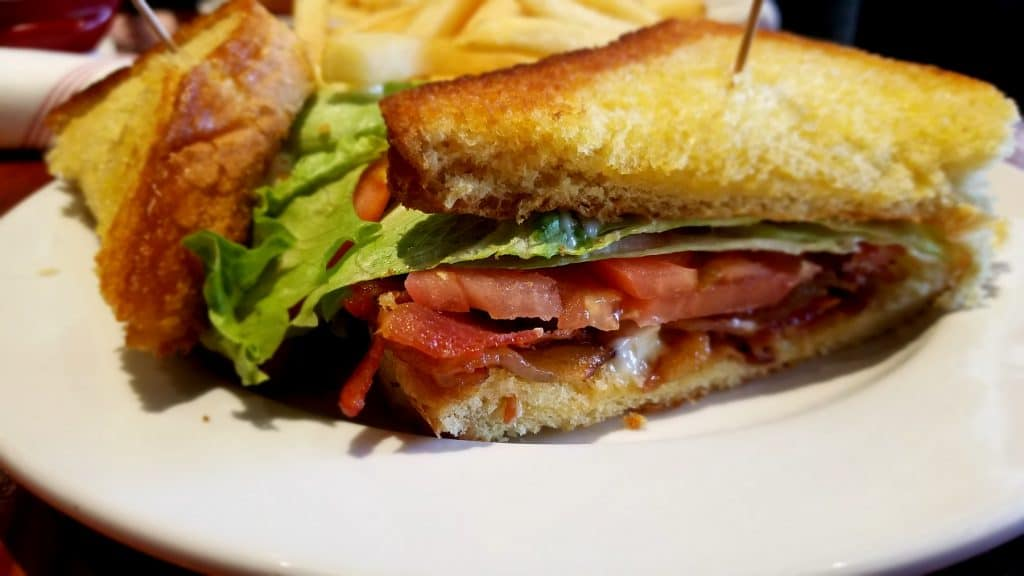 BLT Sandwich from Ale House 1890