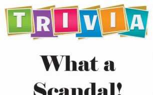 Dimple Times Trivia What a Scandal
