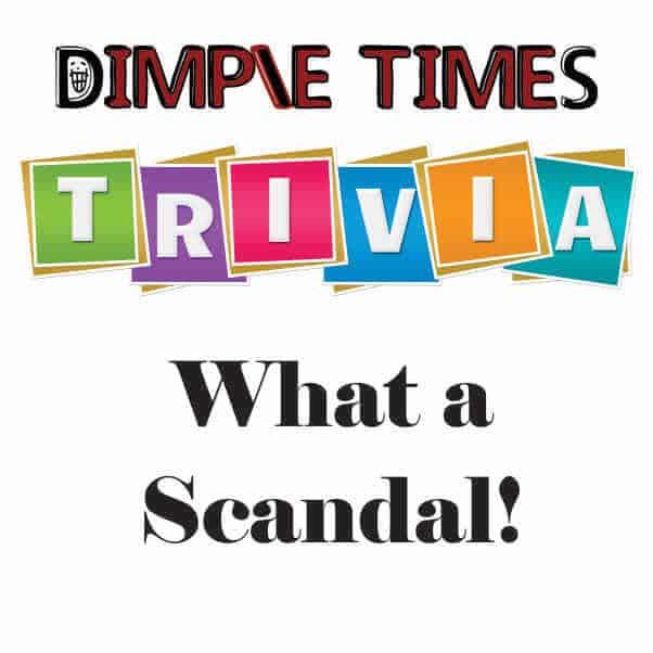 What a Scandal! – Trivia