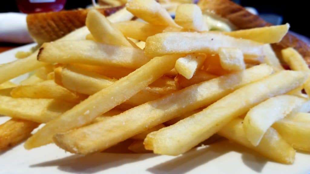 French Fries from Ale House 1890