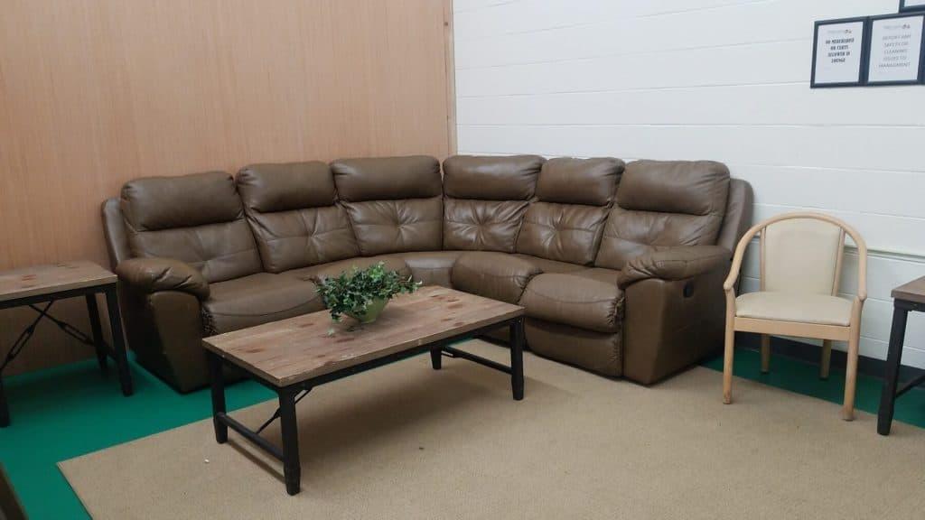Lounge Area inside Peddlers Junction