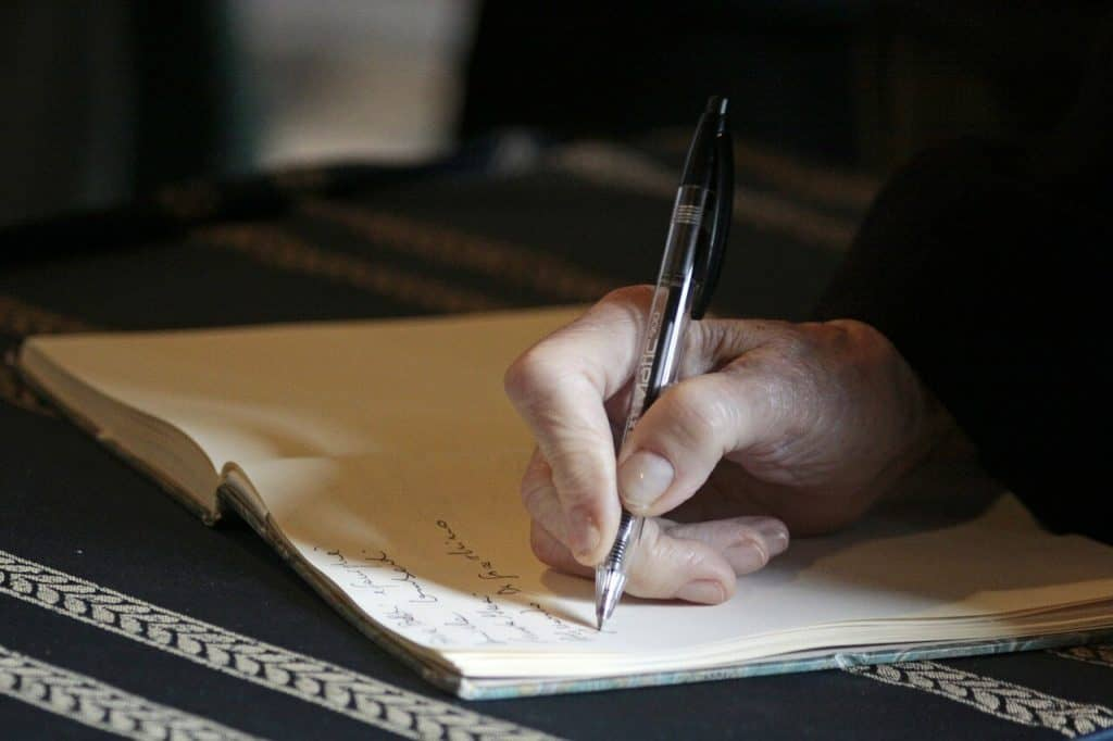 Write your memoirs for people 100 years from today