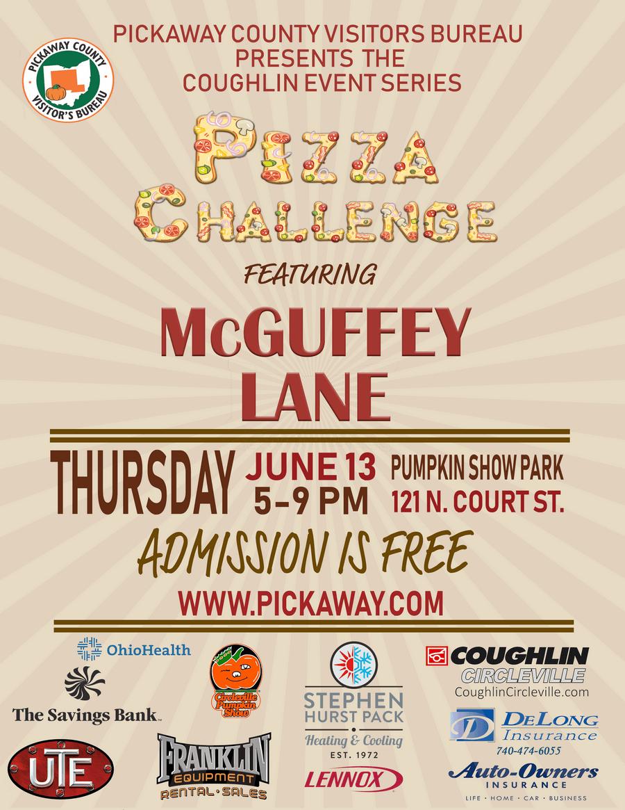 Pizza Challenge Poster