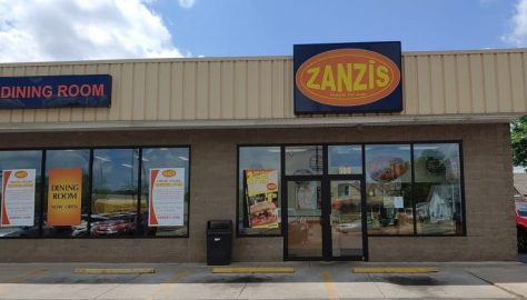 Zanzis Pizza in Circleville, Ohio