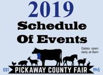 2019 Pickaway County Schedule of Events Logo