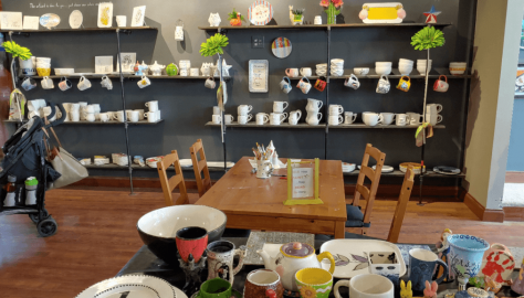 Art and Clay on Main Paint your own Pottery Lancaster