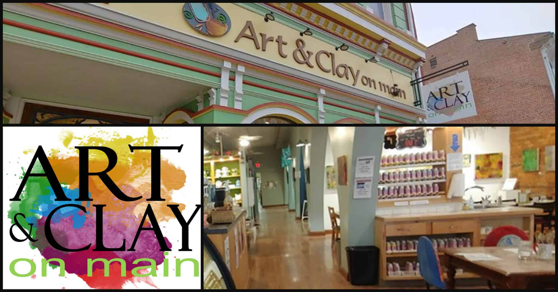 Art and Clay on Main in Lancaster, Ohio