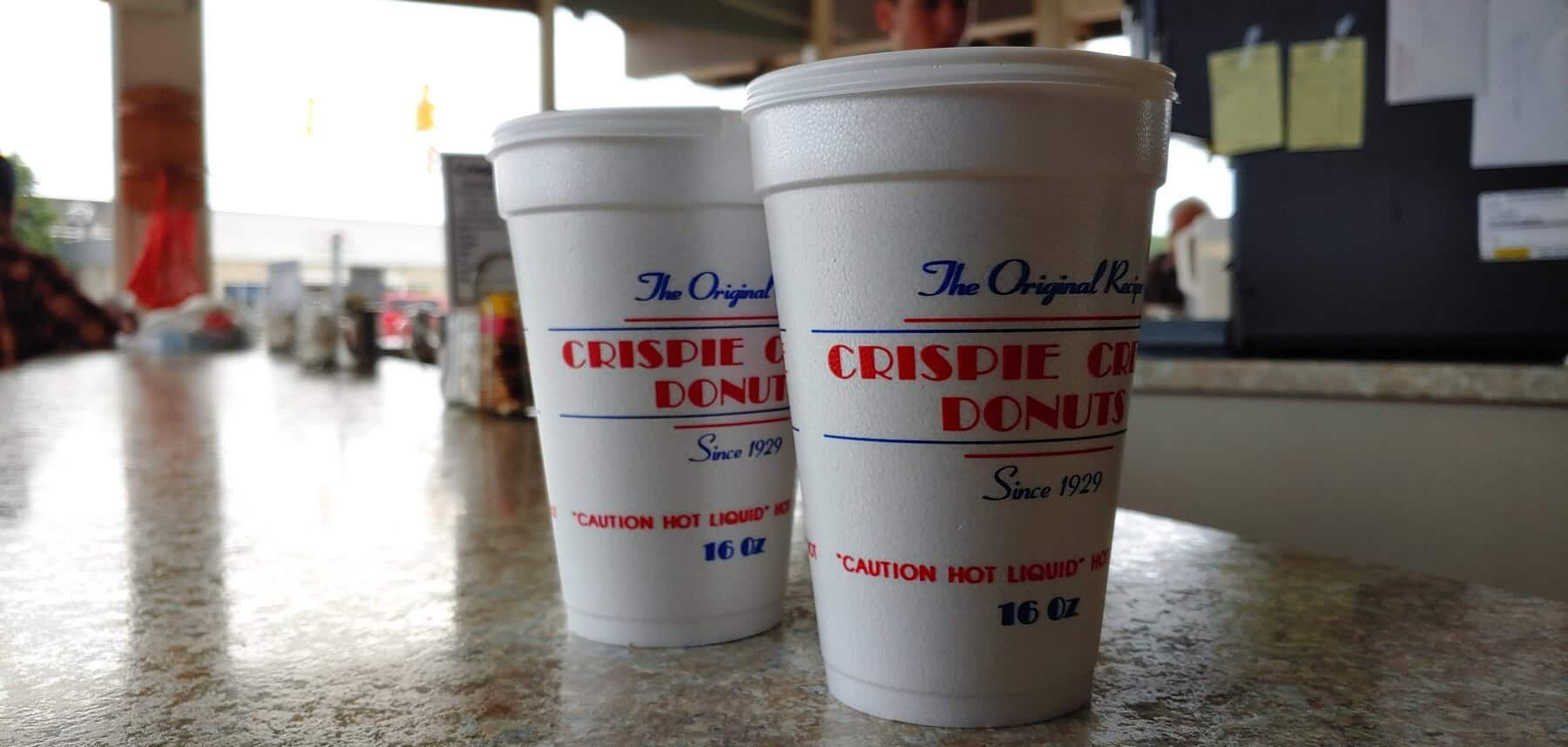 Crispie Creme Donuts - Cappuccinos