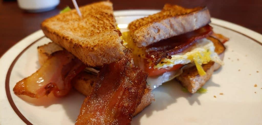 Deb's Corner Cafe BELT Sandwich