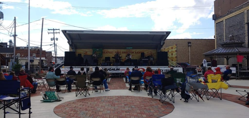Local Group Black Stone Performing at the 2019 Pickaway County Pizza Challenge