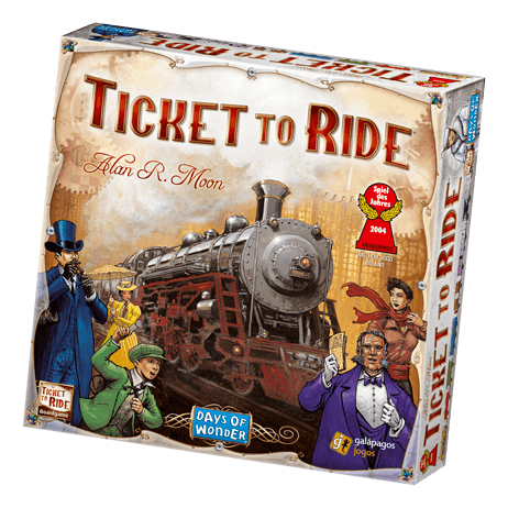Ticket to Ride and Memoir '44