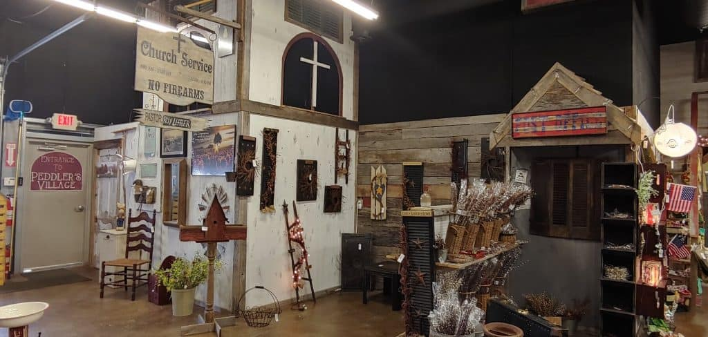 Old Western Town in Bridge St Craft Mall and More