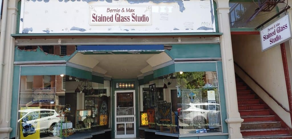 Bernie and Max Stained Glass Studio - Small Business Highlight