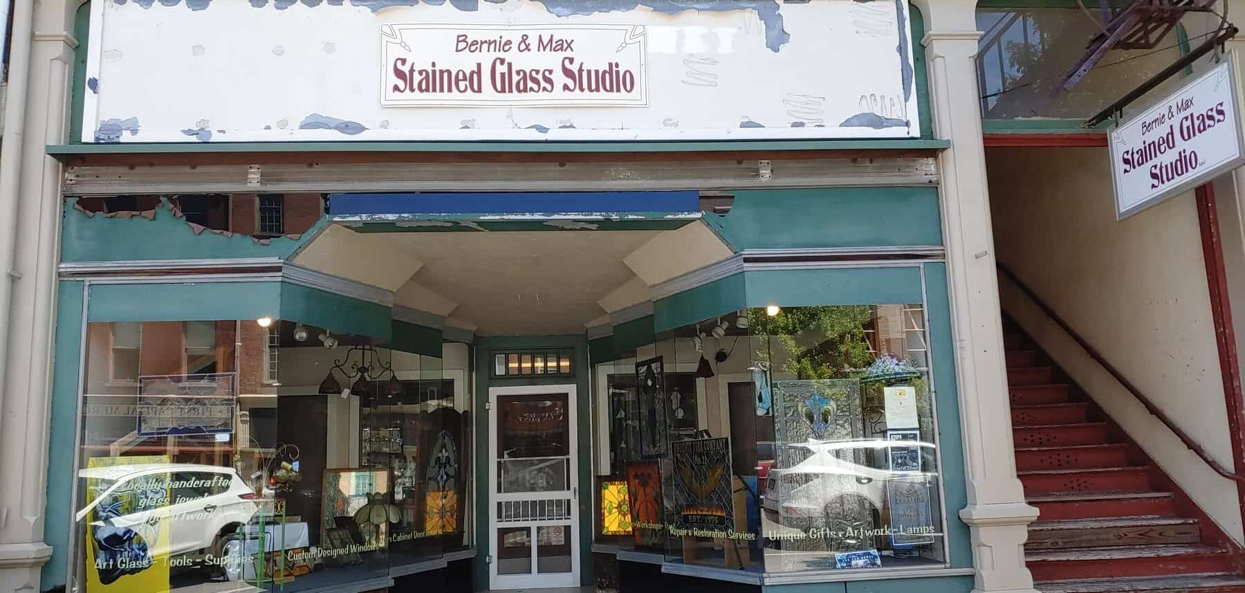 Bernie and Max Stained Glass Studio in Chillicothe, ohio