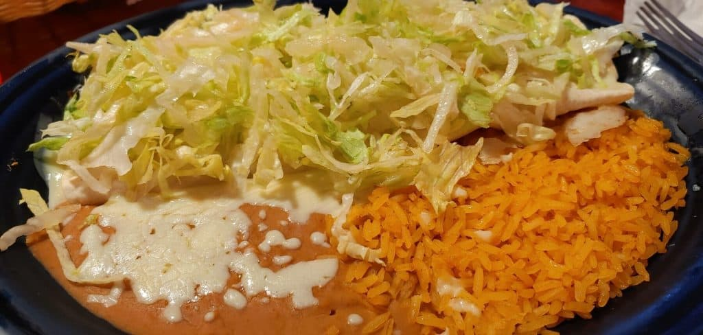 Burrito Mexicano from El Palomar Mexican Restaurant