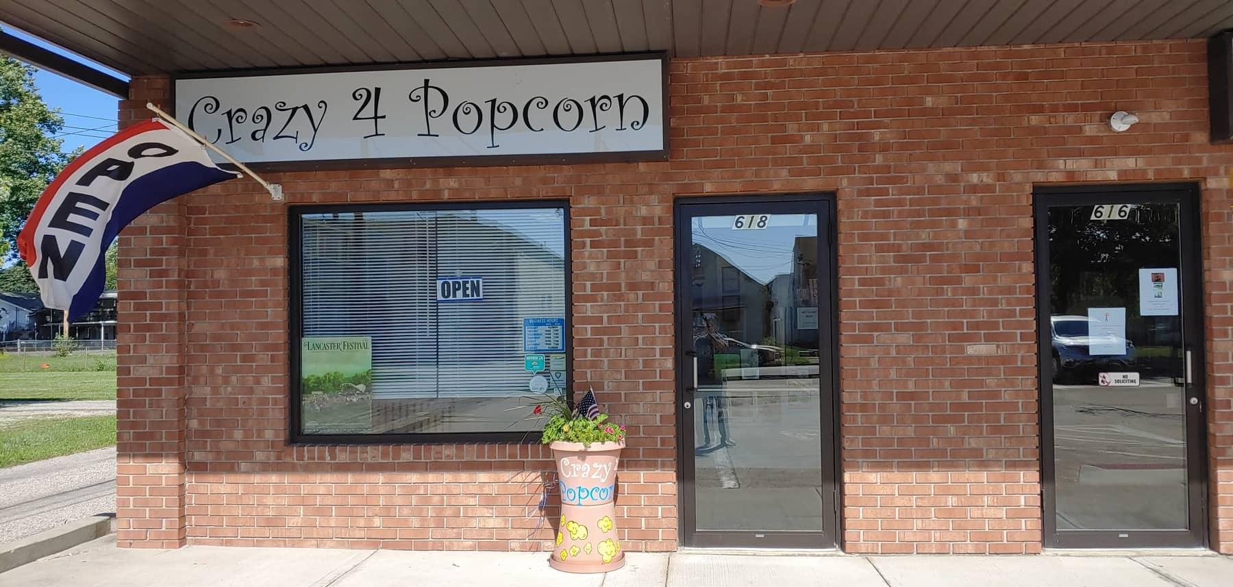 Crazy 4 Popcorn in Lancaster, Ohio