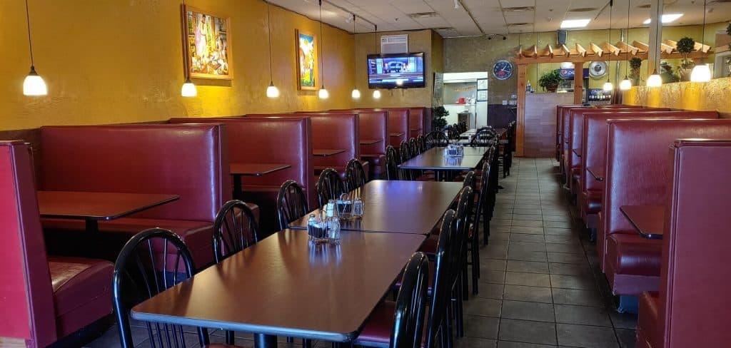 El Palomar Mexican Restaurant Seating Area