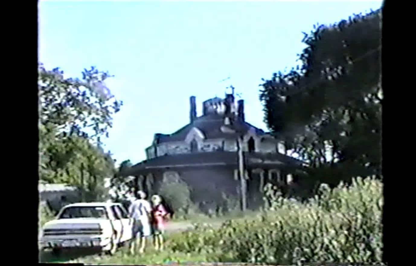 Octagon House in old location