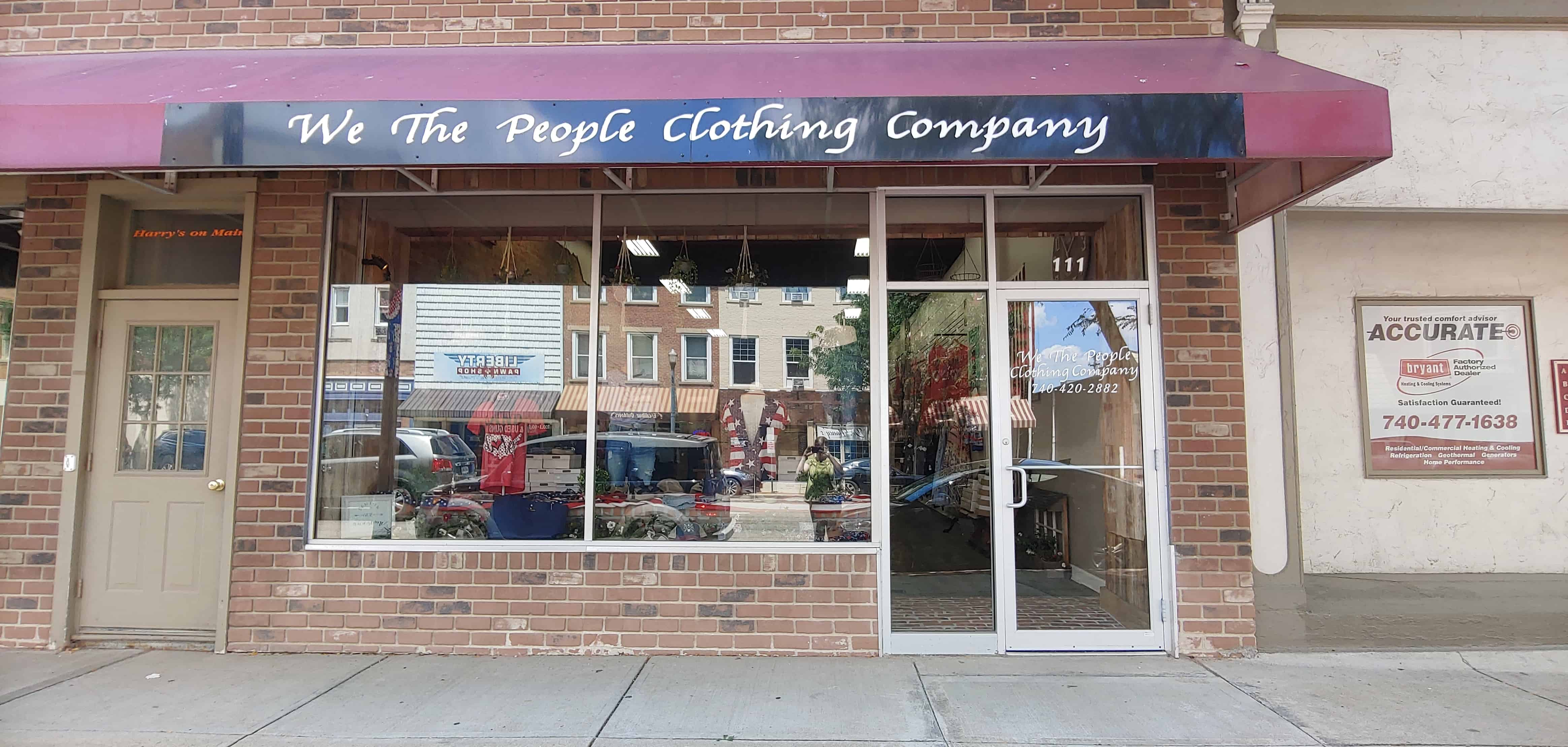 We The People Clothing Co. in Circleville, Ohio