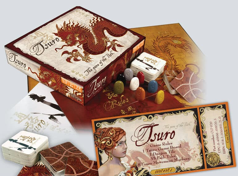 New to the boardgaming hobby - TSURO/RONDO