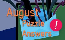 August 2019 answers puzzles