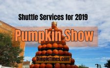 Circleville Pumpkin Show 2019 shuttle services