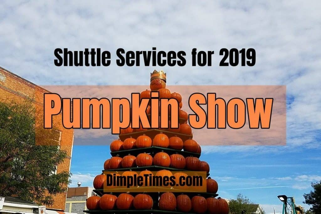 Shuttle Services for 2019 Pumpkin Show – Park and Ride