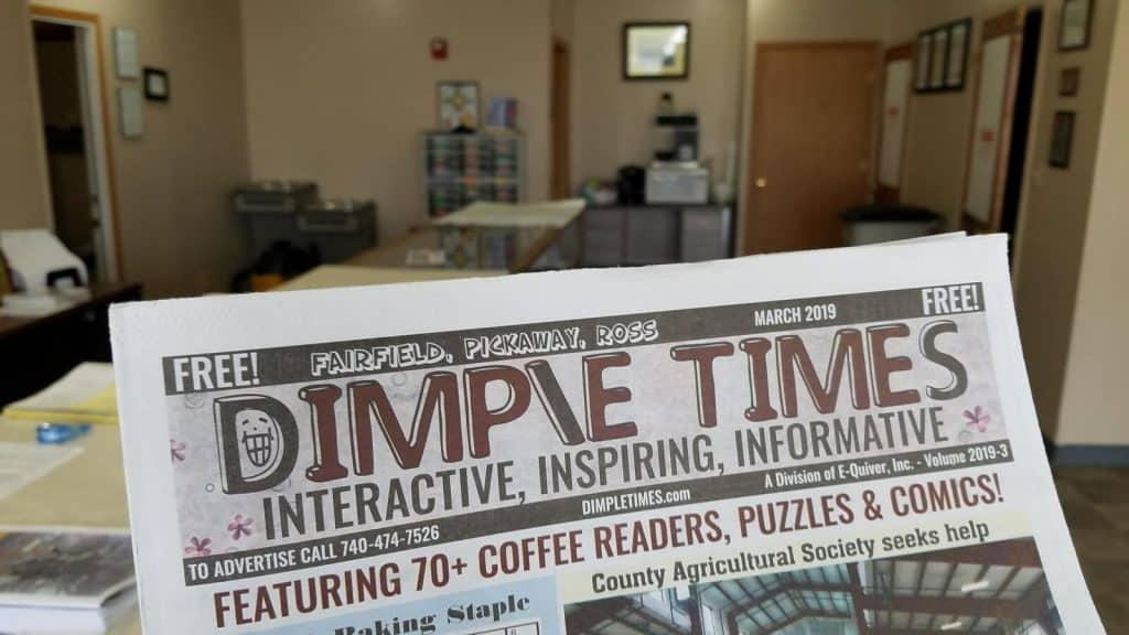 Tell our advertisers you saw them in Dimple Times