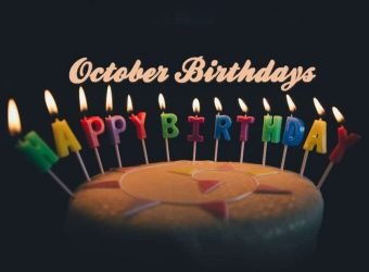 Happy Birthday - October